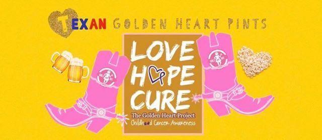 Texan Golden Heart Pints
