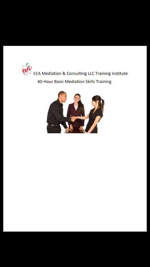 40-Hour Basic Mediation Skills Training