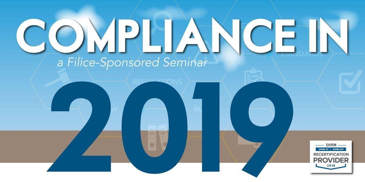 Compliance in 2019 - Anaheim