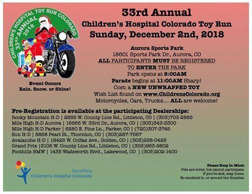 15th annual toy run - 511×395