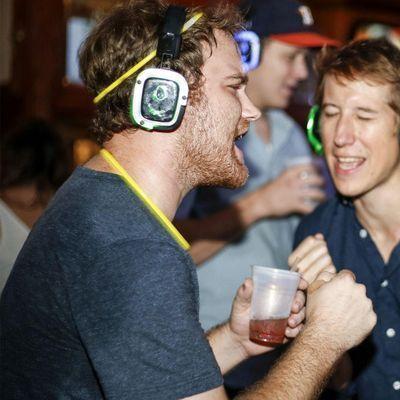 5 Silent Disco Beer Garden Dance Party