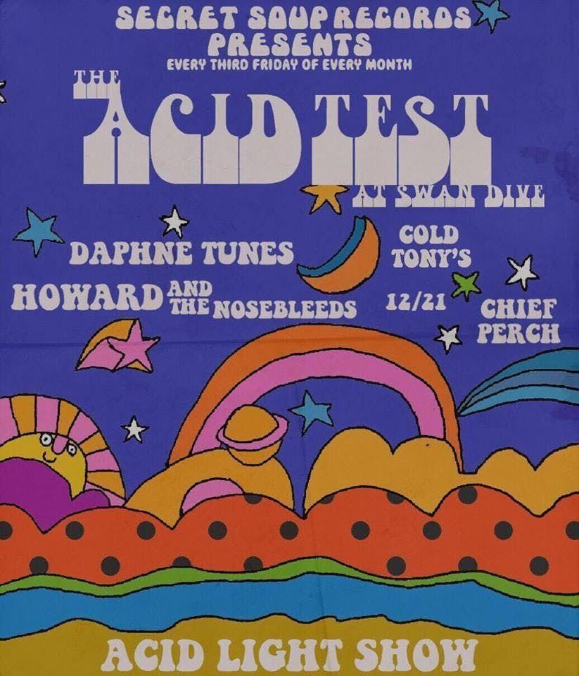Chief Perch Cold Tonys Daphne Tunes Howard & the Nosebleeds