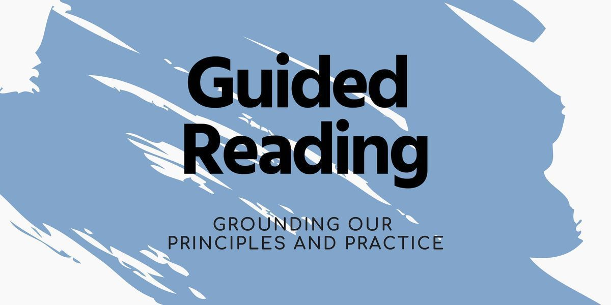 Guided Reading  3 sessions