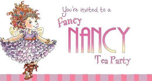 Girls Night Out - Fancy Nancy Tea Party