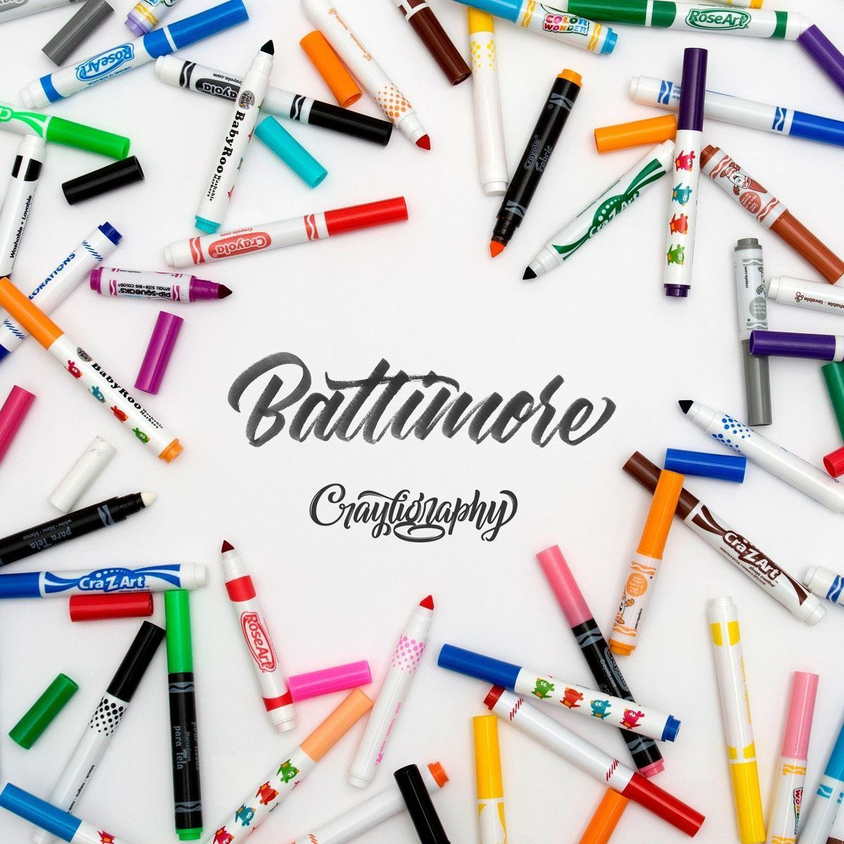 Baltimore Crayligraphy Workshop
