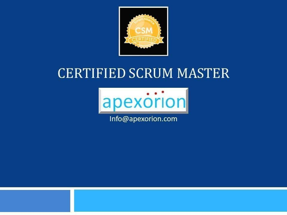 CSM (Certified Scrum Master) - Mar 26-27 Baltimore MD