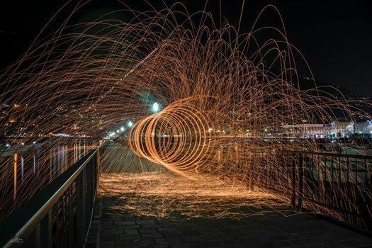 Cremona - Workshop Fotografia Light Painting e Steel Wool