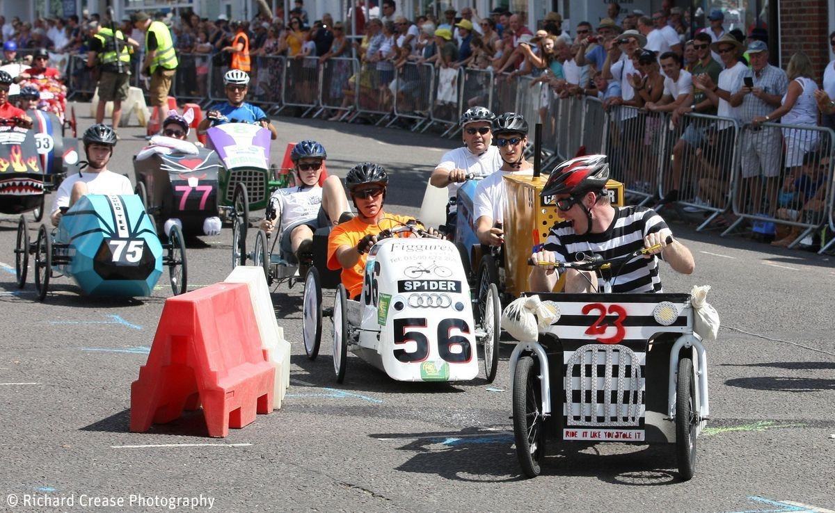 HIOWAA Pedal Car Race