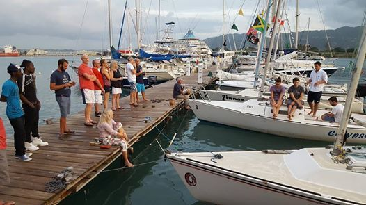 Jamin Jamaica J22 invitational regatta 2018