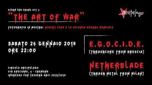 Sturm und Drang Act 1 The Art of War  Egocide  Netherblade
