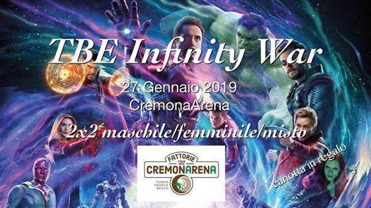 TBE Infinity War 2x2 M-F-Mix