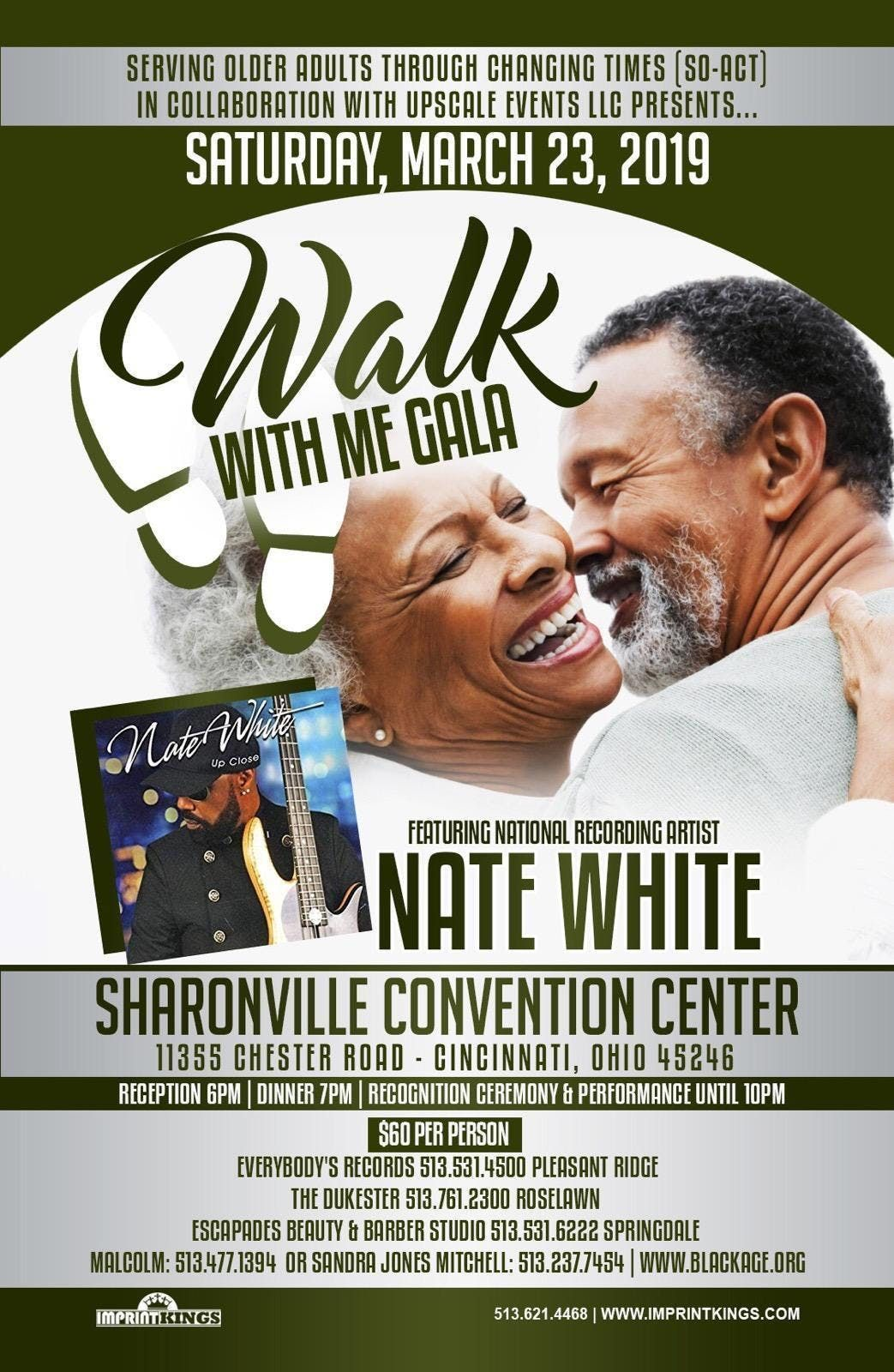 WALK WITH ME GALA FEATURING NATIONAL RECORDING ARTIST NATE WHITE