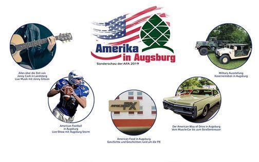 Sonderschau Amerika in Augsburg 2019