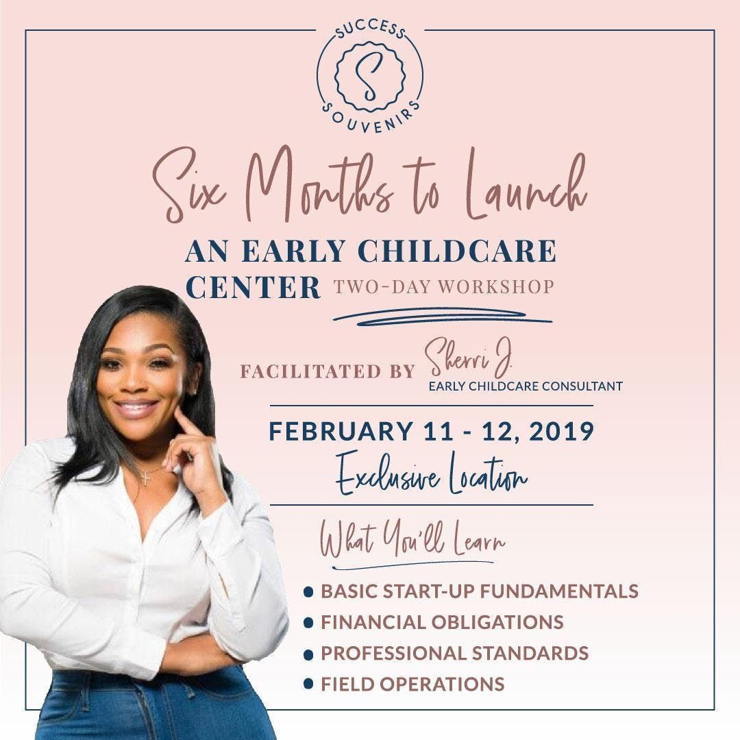Sherri J Presents Early Learning Childcare 2 day workshop