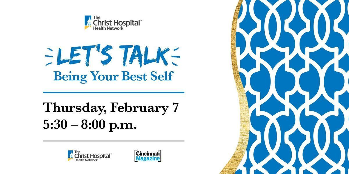 Lets Talk- Womens Health Series Being Your Best Self
