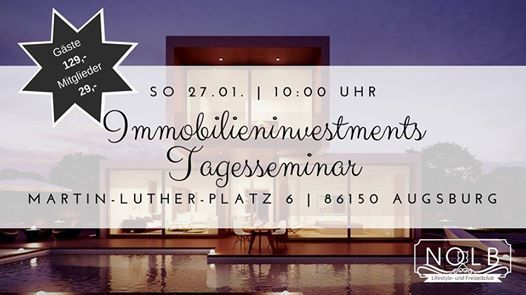 NOLB Tagesseminar Immobilieninvestments