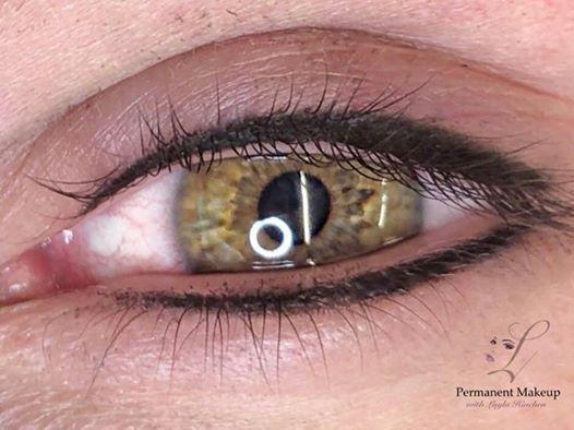 Permanent makeup - eyeliner course
