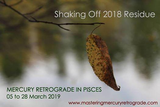 Mastering Mercury Retrograde Workshop at Crystals On The