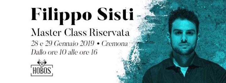 MasterClass di 2 giorni con Filippo Sisti  Hobos Bar