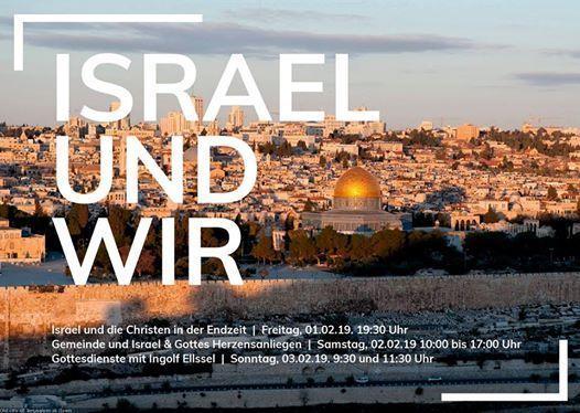 Israel-Seminar  Gottesdienste mit Ingolf Ellel