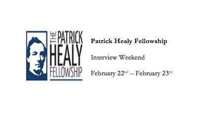 Patrick Healy Fellowship Interview Weekend 2019