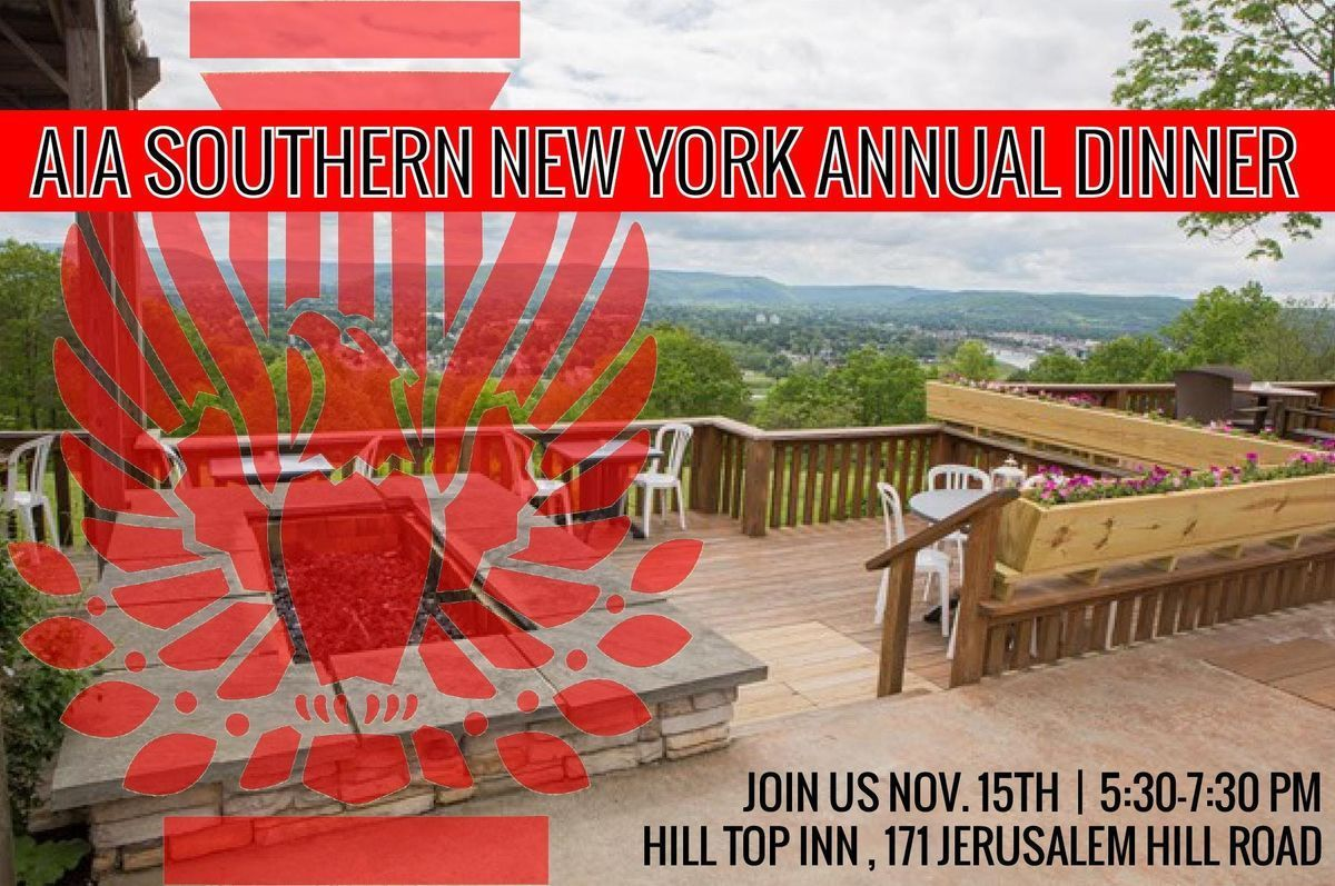 AIA Southern New York Chapter - Annual Dinner - RESCHEDULED