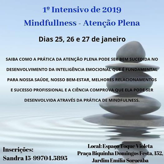 1 Intensivo Mindfullness - Ateno Plena