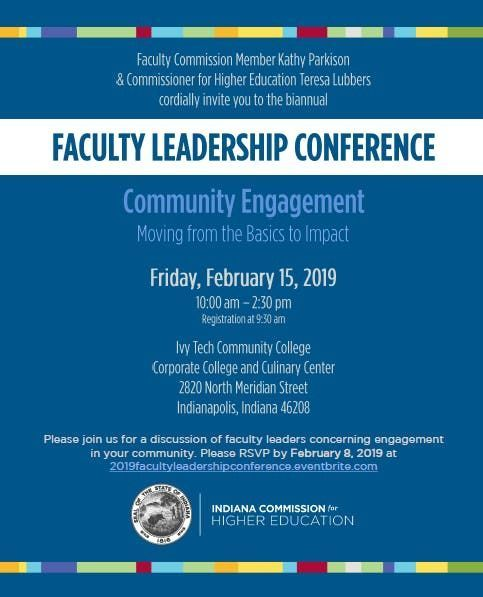 2019 Faculty Leadership Conference