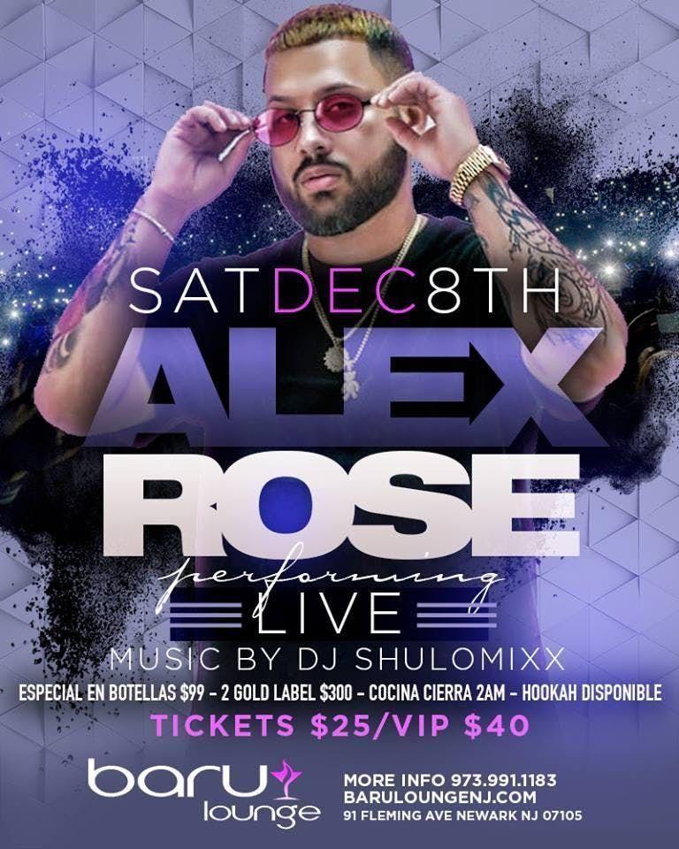 Alex Rose Live at Baru Lounge