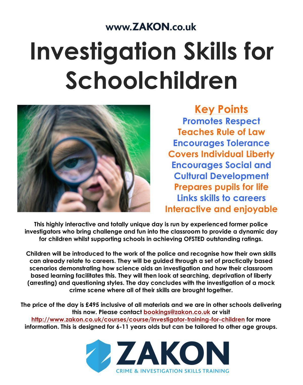 Crime Scene Science and Investigation Workshop