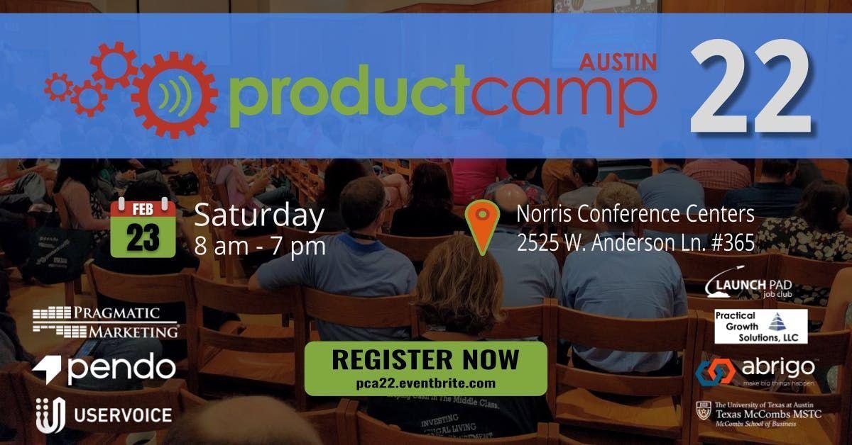 ProductCamp Austin 22 (PCA22)