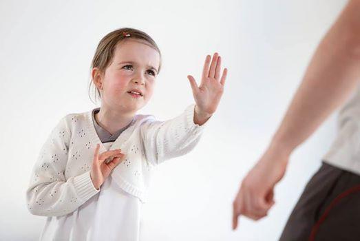 Teste Kinder Selbstverteidigung - am Tag der Selbstverteidigung