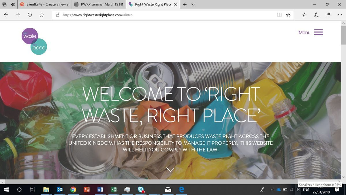 Right Waste Right Place Duty of Care in the Construction Sector