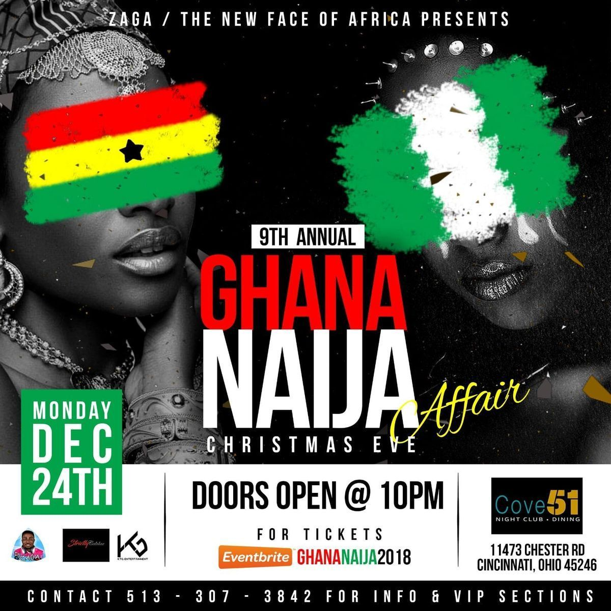 THE 9TH ANNUAL GHANA-NAIJA AFFAIR