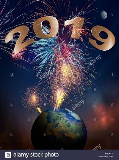 New Years BONG
