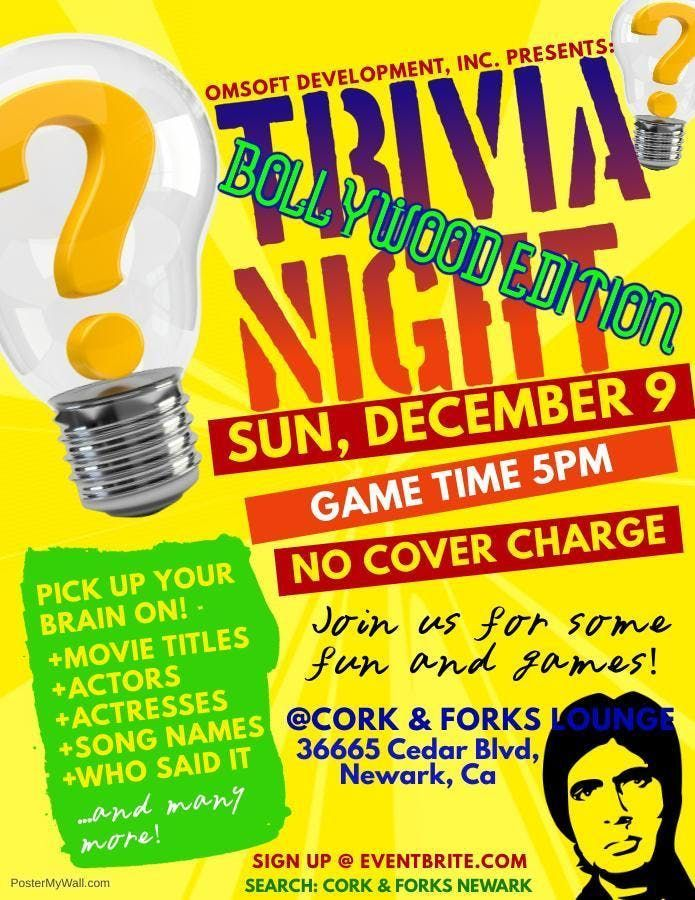 Trivia Night - Bollywood Edition