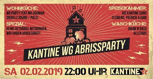LAST WG Party  Abrissparty I This is the End