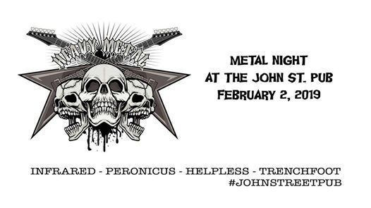 Metal Night at The John St. Pub (Arnprior)