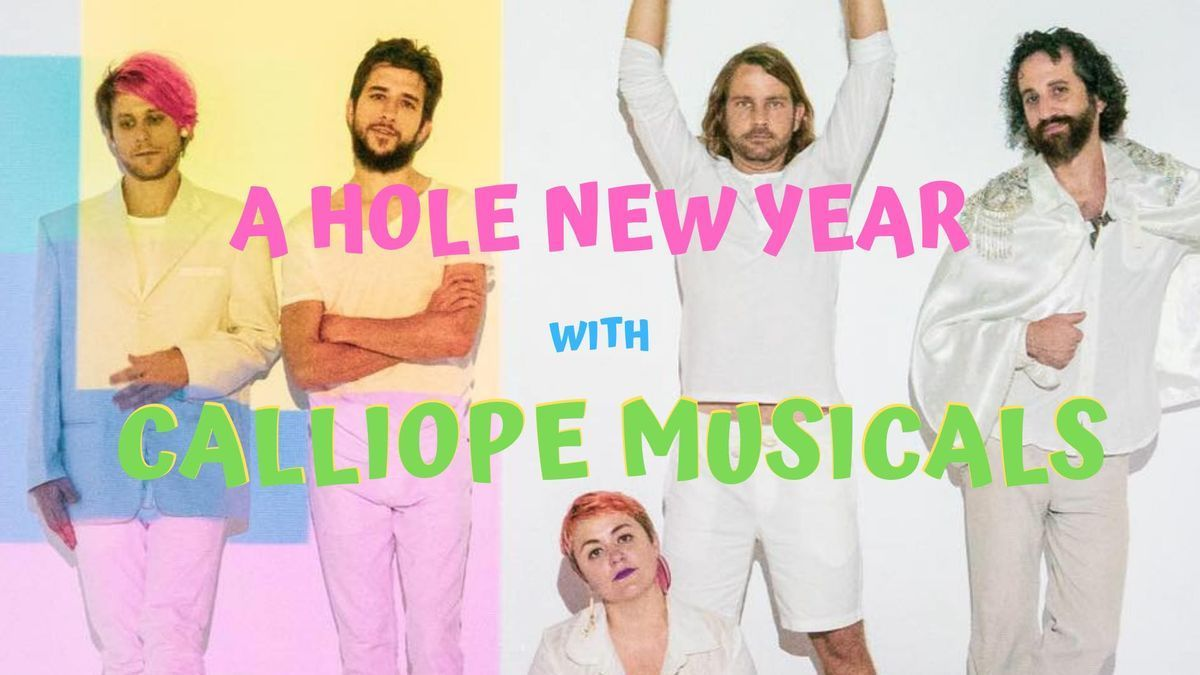 New Years Eve Calliope Musicals Mamalarky Gold Leather Nevil