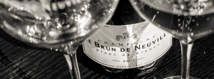 Verkostung Eine Snde wert - Champagner von Le Brun de Neuville