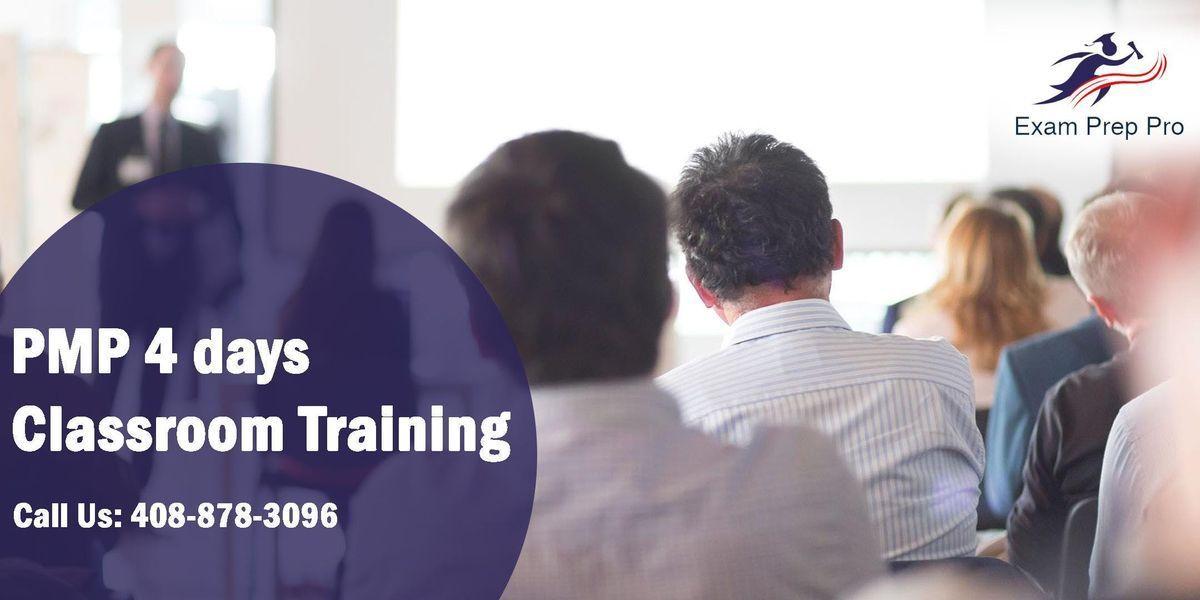 PMP 4 days Classroom Training in AtlantaGA