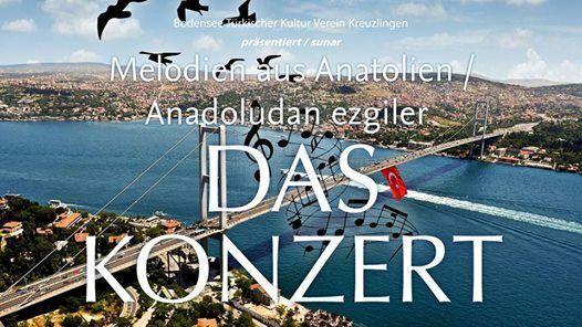 Melodien aus Anatolien  Anadoludan ezgiler  Das Konzert