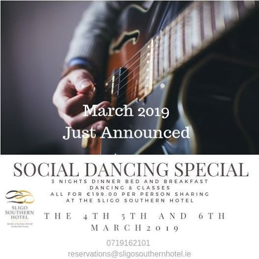 Social Dancing Break March 2019 Sold OUT