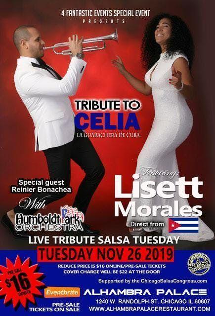 Live Tribute Salsa Tuesday  Tribute to Celia ft Lisett Morales