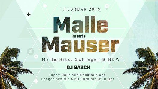Malle Meets Mauser Dj Ssch  01.02