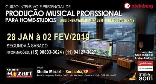 Curso credenciado pela Cubase 10 - Sorocaba Brazil