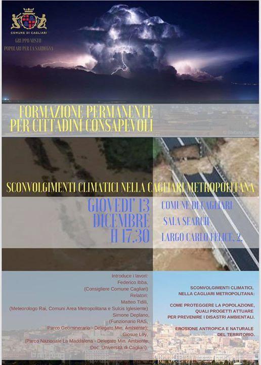 Sconvolgimenti climatici nella Cagliari metropolitana