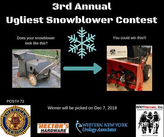 3rd Annual Ugly Snowblower Contest