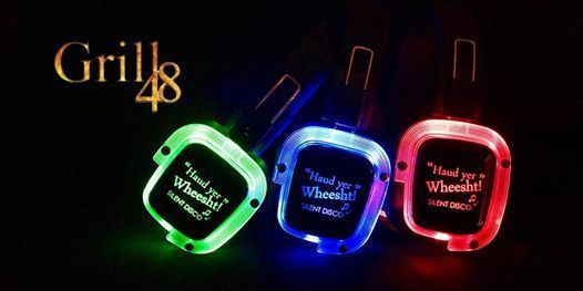 HYW Silent Disco party night at Grill 48