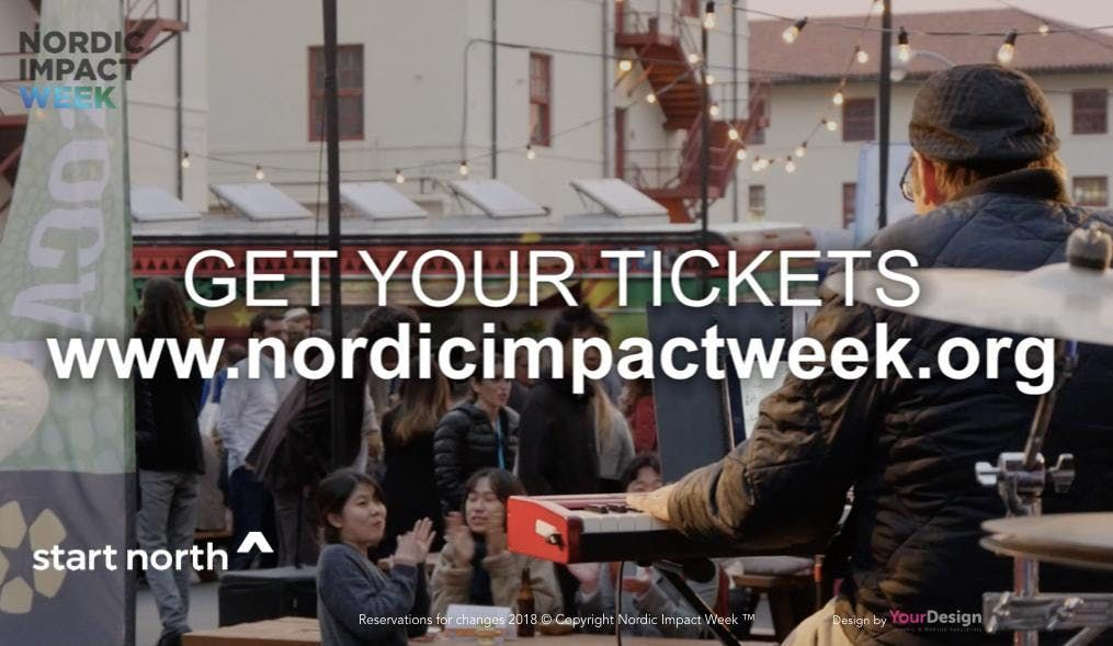 Nordic Impact Week with SoCap 19 in San Francisco Silicon Valley & Los Angeles.